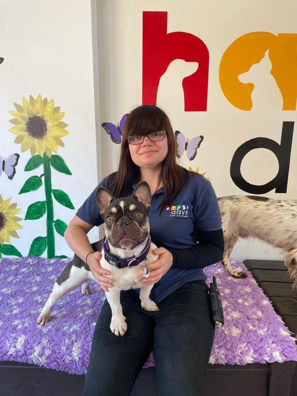 Abigail Wright - Happi Days Dog Day Care team